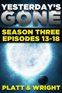 Yesterday's Gone Season Three cover