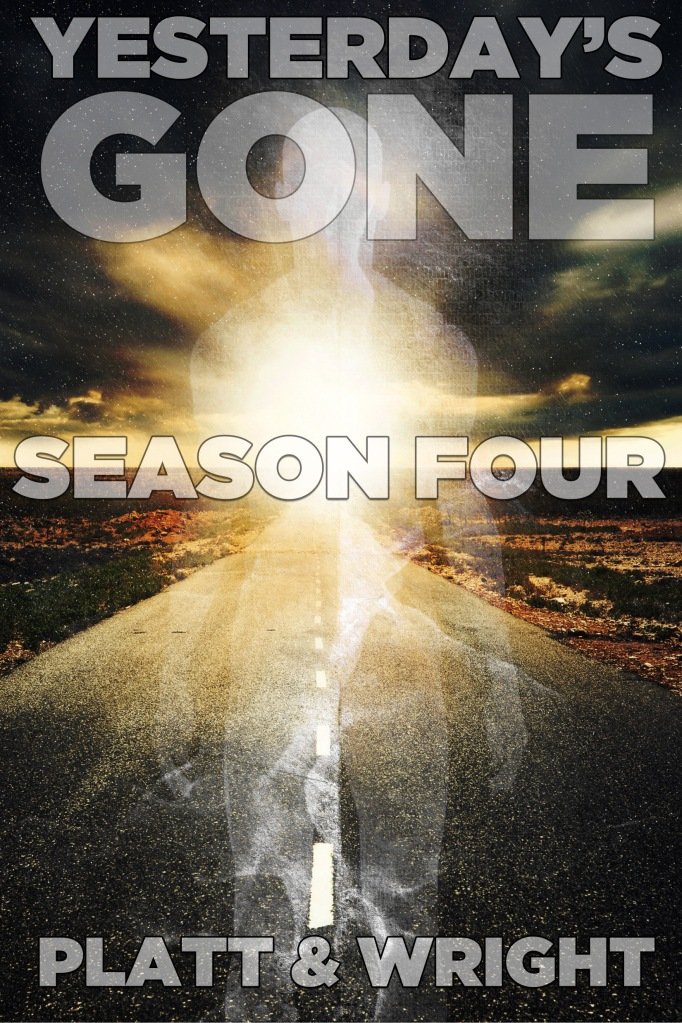 Cover Reveal Yesterday's Gone: Season Four