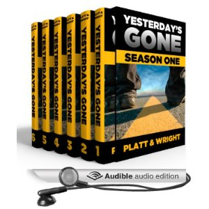 Yesterday's Gone on Audible